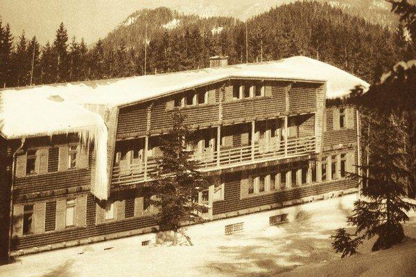 Legendárna chata slúžila turistom takmer sto rokov.