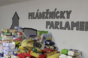 Mládežnícky parlament už 10 rokov organizuje zbierku Kilo