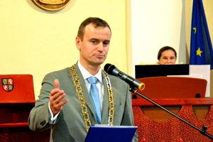 Branislav Zacharides, nový primátor Vrútok.