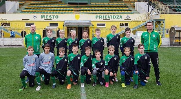 FC Baník Prievidza U14.
