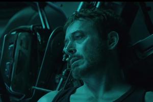 Tony Stark vo vesmíre.