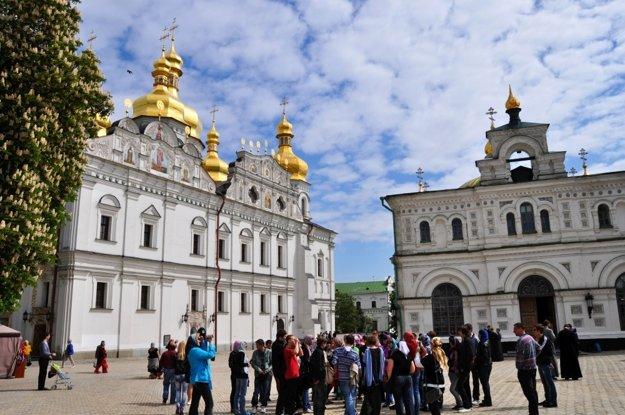 Chrámy Kyjevsko-pečerskej Lavry