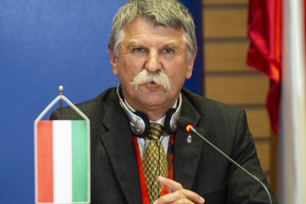 Predseda maďarského Národného zhromaždenia László Kövér.