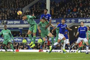 Momentka zo zápasu Everton - Watford.