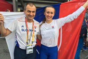 Pavel Slouka aGabriela Gajanová sú vsúčastnosti asi najväčšími hviezdami martinskej atletiky.