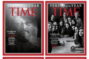 Verzie titulky s osobnosťami roka 2018 podľa magazínu TIME.