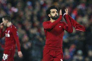 Mohamed Salah je hviezdou FC Liverpool.