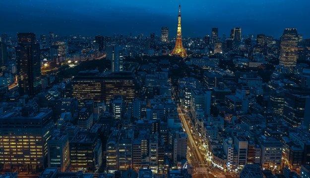 Výhľad na Tokio