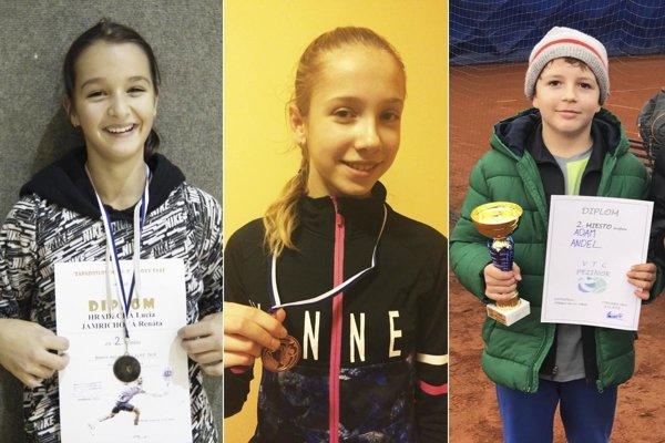 Zľava Lucia Hradecká, Michaela Gedayová a Adam Andel.