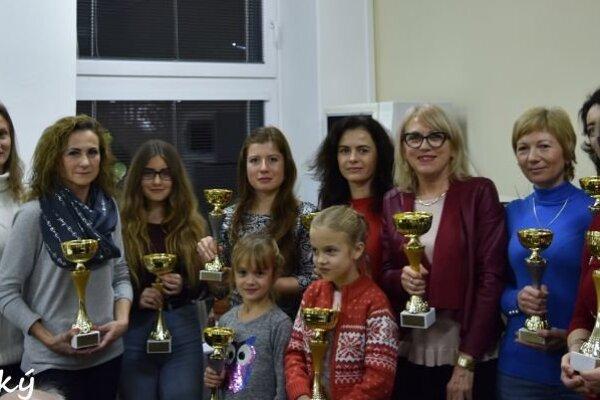 Topoľčianske bežkyne – medailistky.