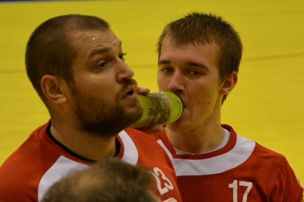 Topoľčany vyhrali v Piešťanoch, najviac gólov Agra strelil Dávid Michalka (vpravo).