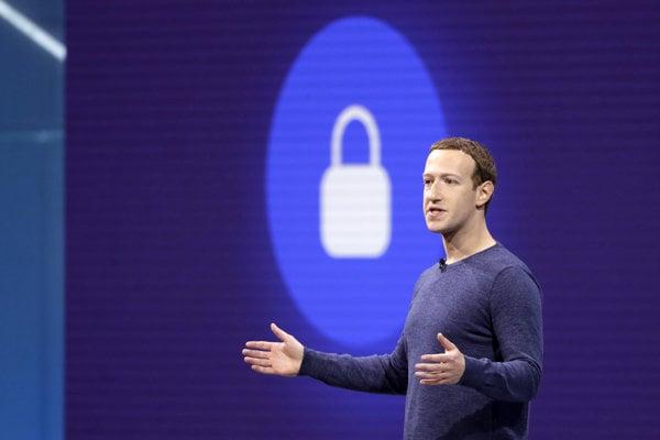Vykonný riaditeľ Facebooku Mark Zuckerberg.