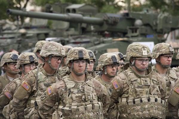 Jednotka americkej armády.