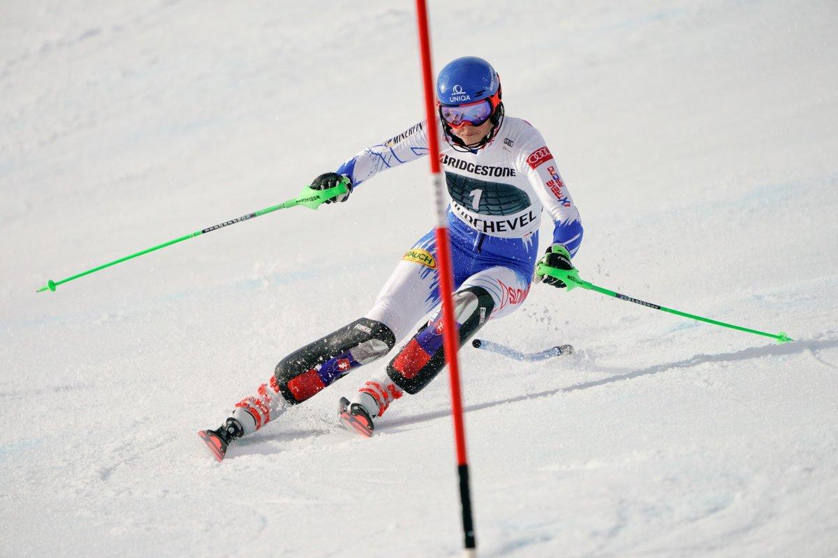 ONLINE  Slalom - 1. kolo (Courchevel 2018 0592c670ad9