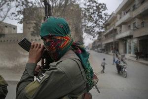 Kurdský bojovník.