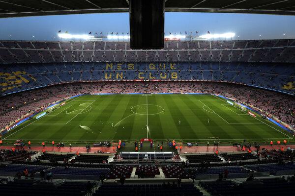 Camp Nou, štadión FC Barcelona.