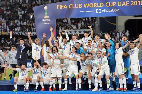 Real Madrid sa stal víťazom MS klubov 2018.