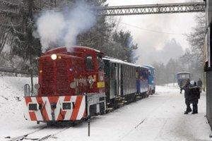 Košická detská železnica.