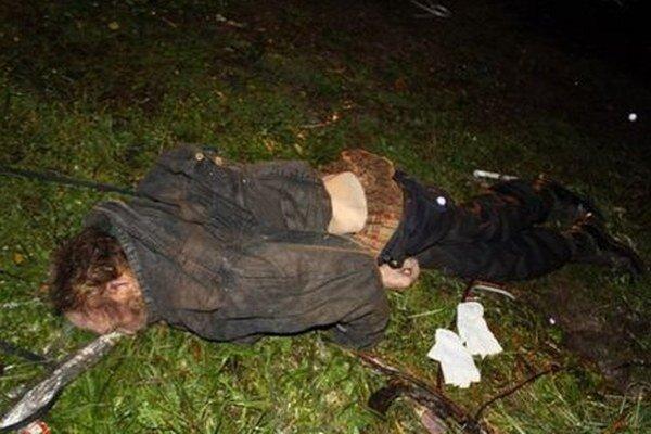 Muž pri sebe žiadne doklady. Pravdepodobne išlo o bezdomovca.