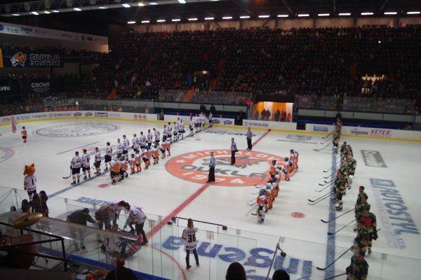 Zrekonštruovaný štadión michalovskej Dukly ožije zápasom hviezd 1. hokejovej ligy.
