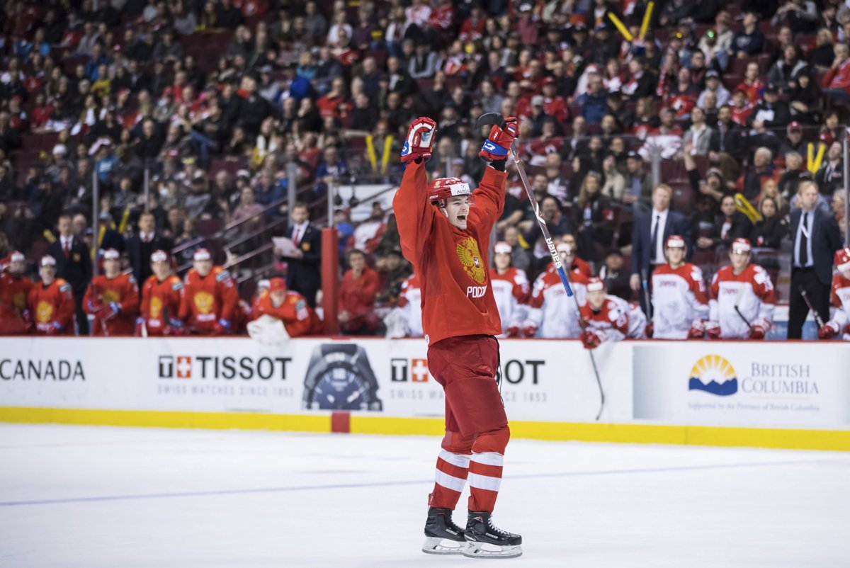 cdec9238f824e 2. hrací deň na MS v hokeji do 20 rokov 2019 (Výsledky) - Šport SME