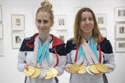 Henrieta Farkašová (vpravo) získala na paralympiáde päť medailí.