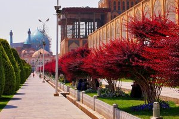 Námestie Nakš-e džahán v Esfahane.