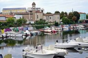 Rimini, prístav na rieke Marecchia