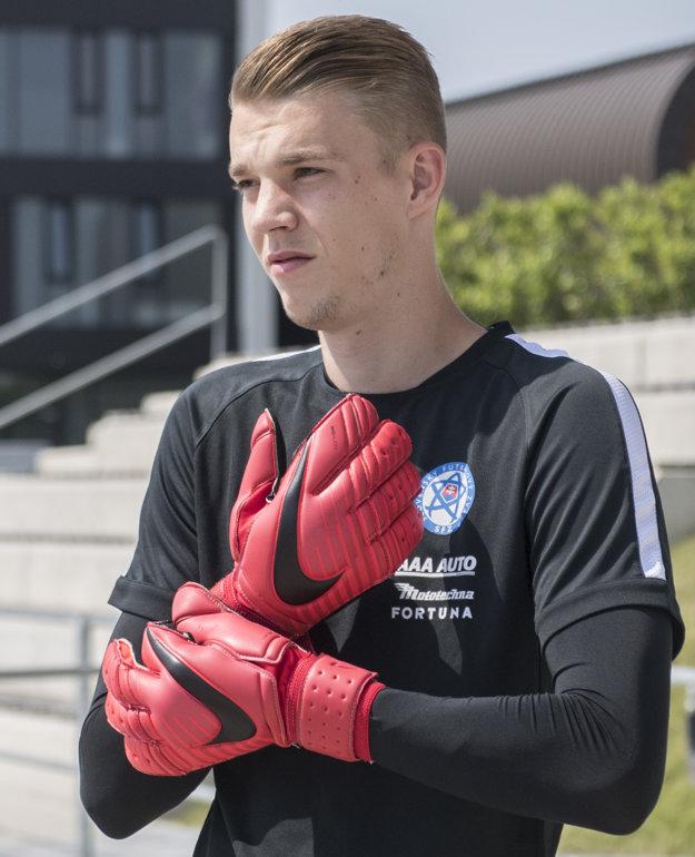 Martin Vantruba je aj mládežníckym reprezentantom Slovenska.