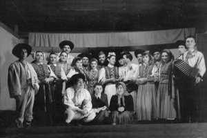 Divadelná hra v obci Čachtice
