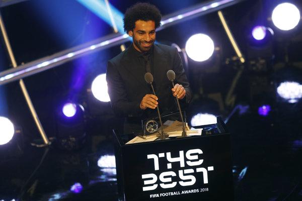 Vlani získal Mohamed Salah cenu Ferenca Puskása za najkrajší gól sezóny.