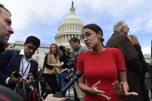 Alexandria Ocasio-Cortezová je hitom sociálnych sietí a obavou tradičných politikov.