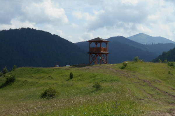Pri vyhliadke nad Necpalmi bude končiť trasa náučného chodníka.