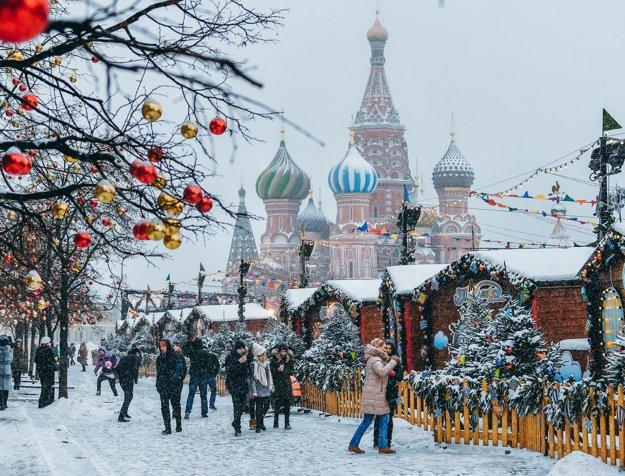 Zimná Moskva