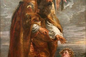 Svätý Augustín na obraze Petra Paula Rubensa