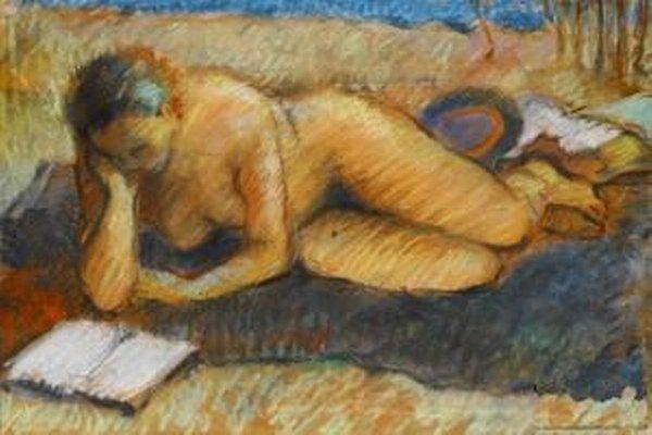 Dielo Róberta Dúbravca: Čítajúca.