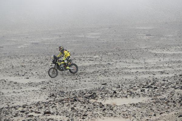 Štefan Svitko počas Rely Dakar 2019.