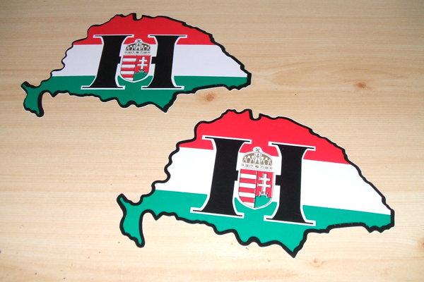 Nálepky Veľkého Maďarska stále patria medzi najpopulárnejšie.