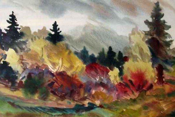 Akvarel Pod Tatrami