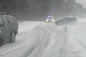 Nehoda medzi Spišskou Belou a Tatranskou Kotlinou.