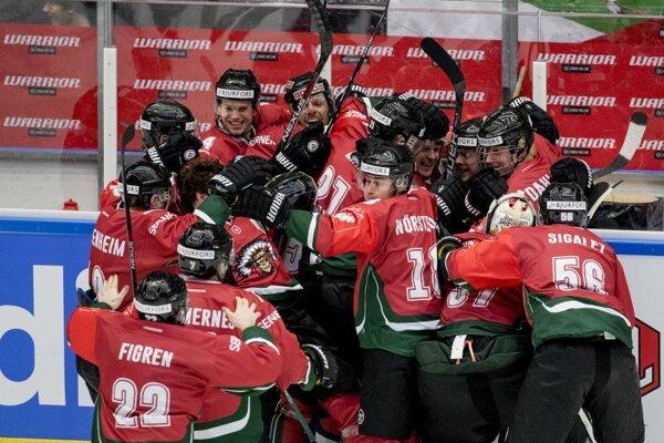 Hokejisti Frölundy.