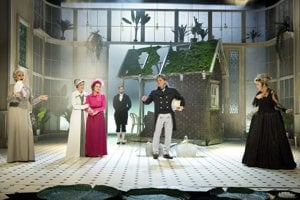 Inscenácia Rozum a cit má na Novej scémne premiéru 16. a 17. januára