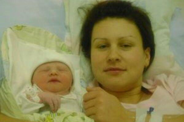 Gabika s mamičkou Vierou.