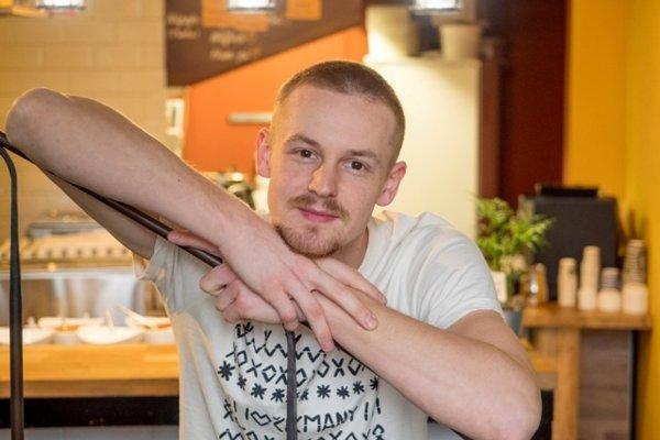 Tomáš Hakl - majiteľ Buchtárne.