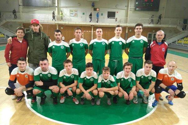 Mužstvo MŠK, ktoré odohralo prípravný zápas v Leviciach