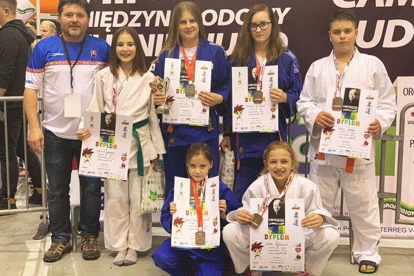 Judo klub Považská Bystrica v Poľsku.