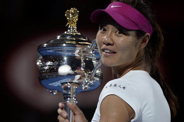 Na Li získala titul na Australian Open v roku 2014, keď zdolala slovenskú tenistku.