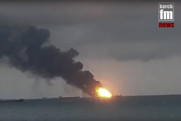 Na lodi vypukol požiar.