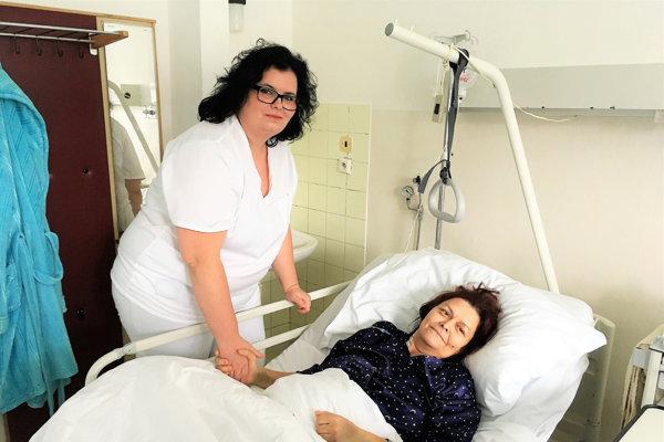 Obe ženy sa opäť stretli vnemocnici.