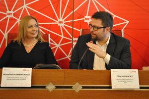 Filip Hlubocký hovoril aj o tom, že Nové Zámky sú jeden z dvoch najväčších železničných uzlov na Slovensku.